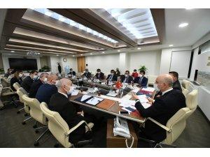 """Bakan Karaismailoğlu: """"Afganistan ile demiryolu taşımacılığı imkanlarının artırılması ve yeni işbirliği imkanlarının oluşturulması konusunda her türlü çalışmaya katılmaya istekliyiz"""""""