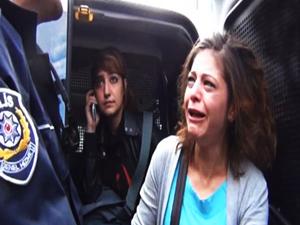 """Eylemcinin isyanı: """"Polis bana o...spu"""" dedi"""