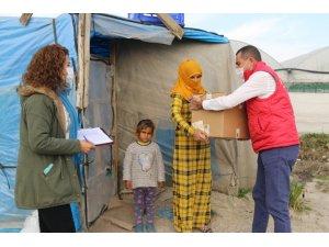 Akdeniz Kaymakamlığından mevsimlik işçilere yardım eli