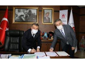 Anadolu'nun Oxford'u Amasya'da eğitimde işbirliği için imzalar atıldı