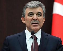 Cumhurbaşkanı Gül'den Galatasaray'a tebrik
