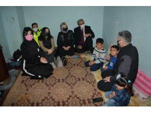 Iraklı sığınmacı aileye devlet şefkati