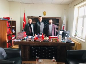 Sağlık-Sen Şırnak Şubesi yöneticileri, İdil Cumhuriyet Savcısı Hamzaçebi ile görüştü