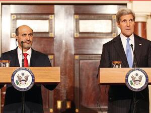 John Kerry  Ahmet el-Carba ile görüştü