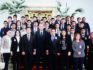 AKP Gençlik Kolları fotoğrafı montaj çıktı
