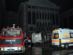 Antalya Adliyesi'nde yangın