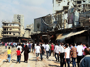 Suriye'nin Humus bölgesinde tahliyeler sürüyor