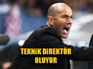 Zidane Zidan teknik direktör oluyor