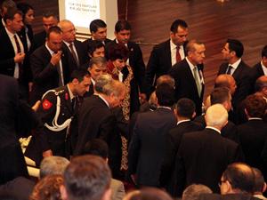 Başbakan Danıştay'ın törenini terketti