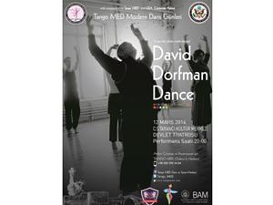 Amerikan modern dans efsanesi David Dorfman Diyarbakır'da