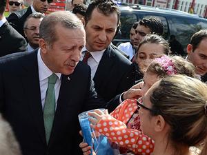 Başbakan Erdoğan'dan hasta ziyareti