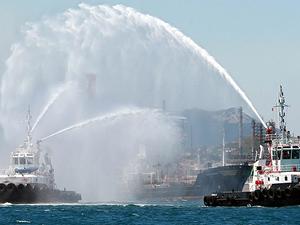 "Güney Çin Denizi'nde ""tazyikli su savaşı"""