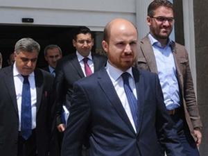 Bilal Erdoğan'dan Şahin'e hayırlı olsun  ziyareti