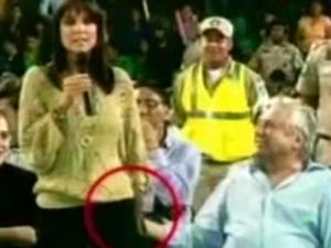 Percy Fernandez'dan gazeteciye cinsel taciz!