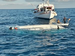 Akdeniz'de batan teknede ölü sayısı 17