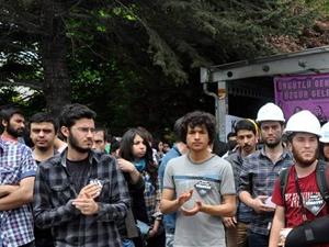 Ankara'da Soma protestosu