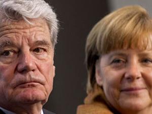 Merkel ve Gauck'tan taziye mesajı