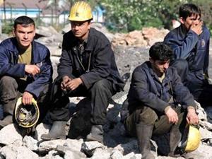 Zonguldak'taki madenciler iş bıraktı