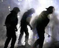 Beypazarı'nda maden işçileri eylem yaptı