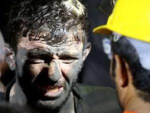Soma'daki madeni su bastı