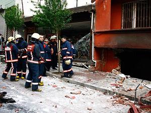 Kağıthane'de doğalgaz patlaması : 1 yaralı