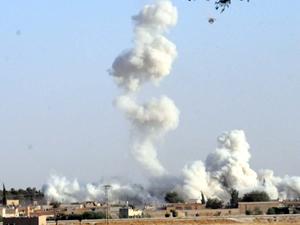 Türki-Suriye sınır'da patlama
