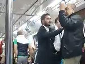 Metroda Soma tartışması