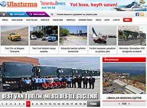 Ulaştırma Gazetesi'nin internet sitesi açıldı