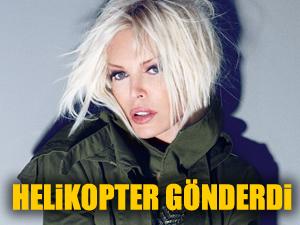 Ajda Pekkan Soma'ya helikopter gönderdi