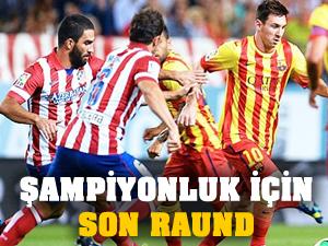 Barcelona ve Atletico Madrid şampiyonluk aşkına