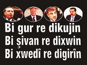 Kürtçe gazete Azadiya Welat noktayı bu manşetle koydu!