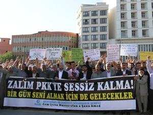 PKK'ya tepki yağıyor!