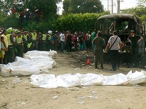 32 çocuk yanarak öldü