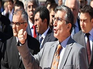 Taksim'de 19 Mayıs töreninde gerginlik