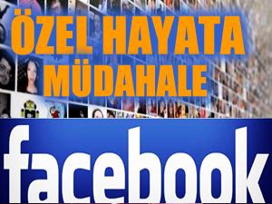 Facebook'tan gizli hayata müdahale