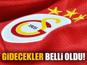 Galatasaray ile yolları ayrılan futbolcular belli oldu