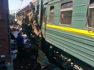 Rusya'da tren faciası: 9 ölü