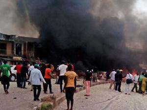 Nijerya'da arka arkaya patlama