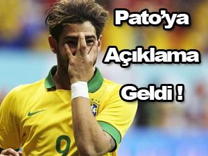 Corinthians'tan Pato açıklaması