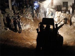 Esed güçleri operasyonunda 82 kişi öldü