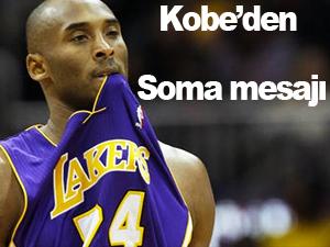 Kobe Bryant'dan Soma taziyesi