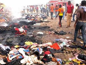 Nijerya'da patlama: 118 ölü