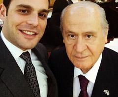 Devlet'ten Gazinocular Kralı'nın veliahdıyla selfie