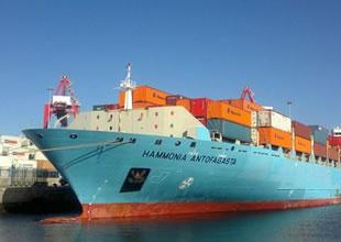 Hammonia Antofagasta adlı konteyner gemisi Çanakkale Boğazı'nda arızalandı