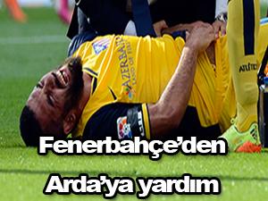 Arda Turan'a Fenerbahçe'den yardım
