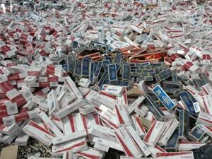 Mersin'de 2 milyon 317 bin kaçak sigara yakalandı