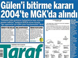 """""""Gülen'i bitirme kararı"""" haberine 52 yıl hapis"""