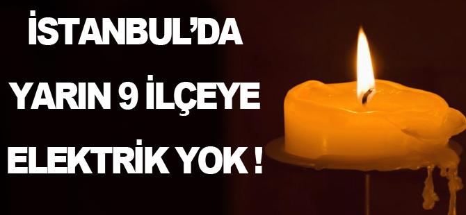İstanbul'a 4 saat elektrik yok!