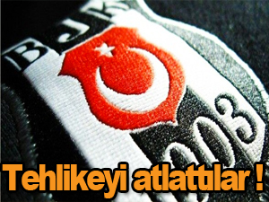 Beşiktaş kurtuldu
