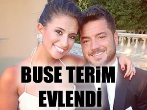 Buse Terim sade bir nikahla evlendi